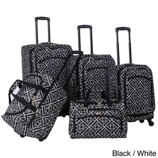 American Flyer Astor Collection 5-piece Spinner Luggage Set