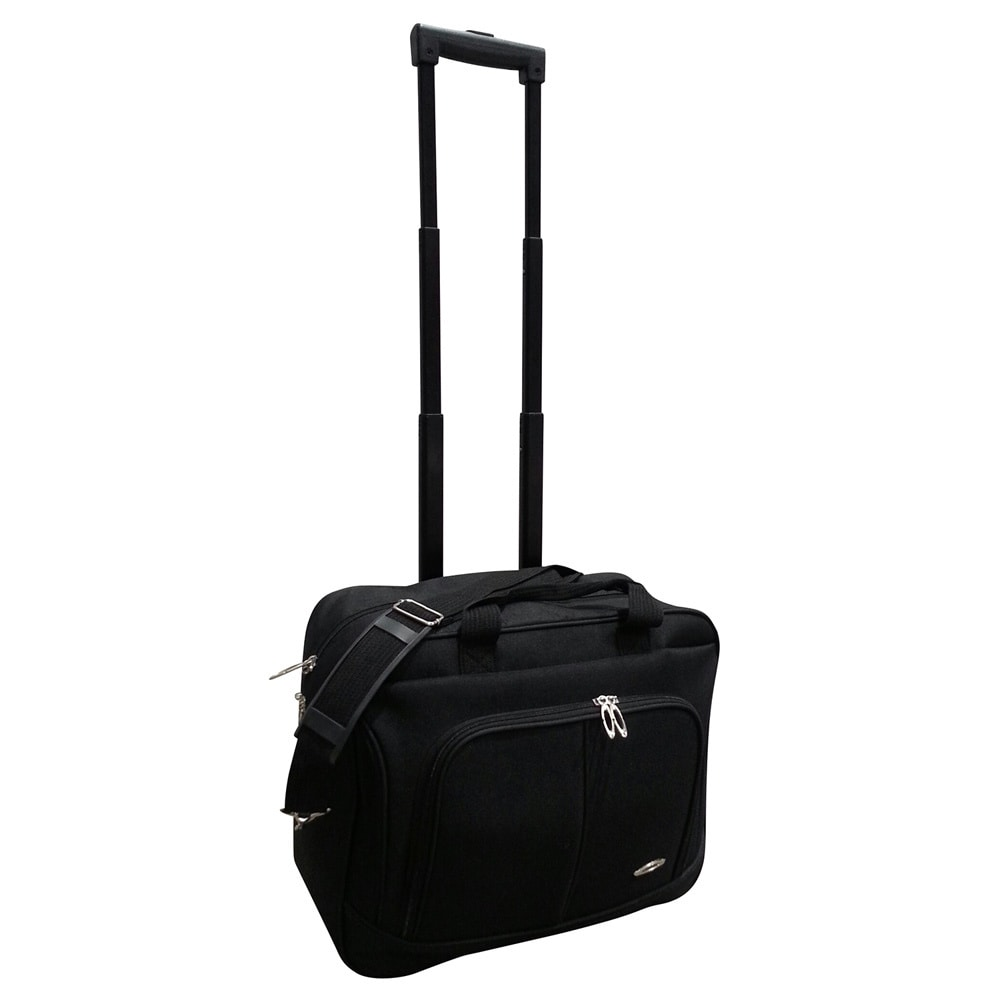 Kemyer On The Go Carry Lightweight Rolling Laptop Case