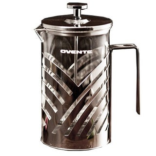 Ovente FSD27P Stainless Steel 27-ounce French Press