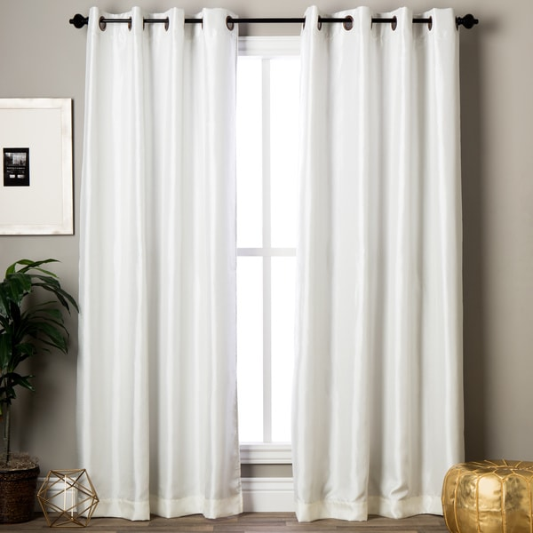 Maytex Jardin Blackout Room Darkening 84 Inch Window Curtain Panel 54 X