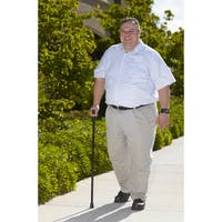 Drive Medical Heavy Duty Folding Cane Lightweight Adjustable with T Handle
