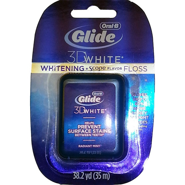 Crest Glide Whitening Plus Scope Floss (Pack of 8) (8 Pac...
