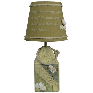 Somette Shell Buoy Table Lamp