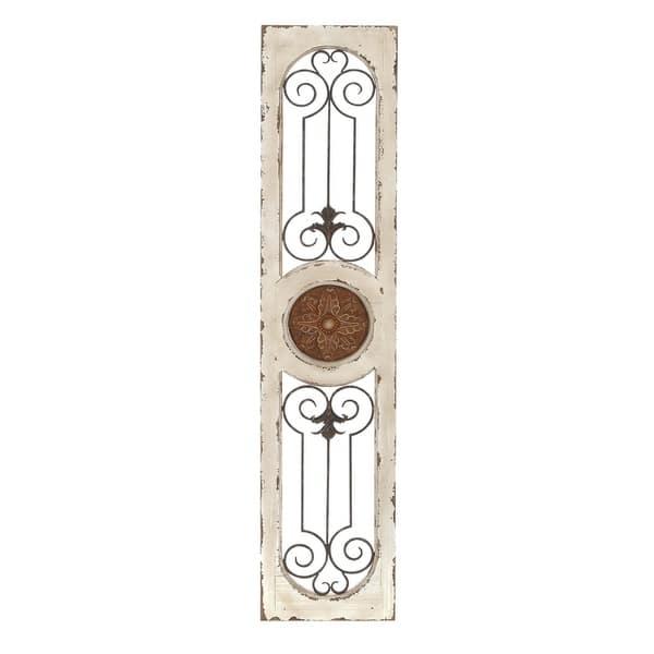 Wood Metal Wall Panel Decor