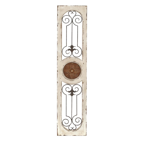 Shop Wood Metal Wall Panel Wall Decor Free Shipping