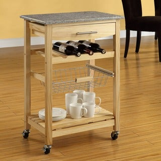 Linon Constance Mobile Kitchen Island