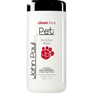John Paul Pet Ear/ Eye Grooming Pet Wipes