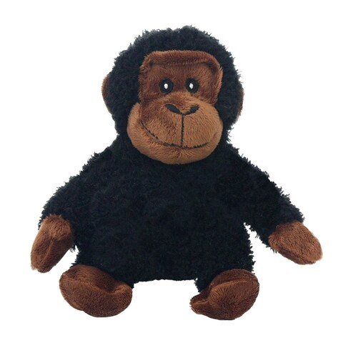 Multipet Looking Who's Talking Chimp Plush Pet Toy