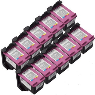 Sophia Global Remanufactured Ink Cartridge Replacements for HP 60XL (Pack of 10)