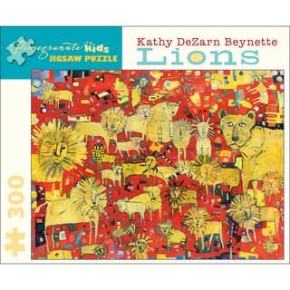 Kathy DeZarn Beynette Lions 300-piece Puzzle