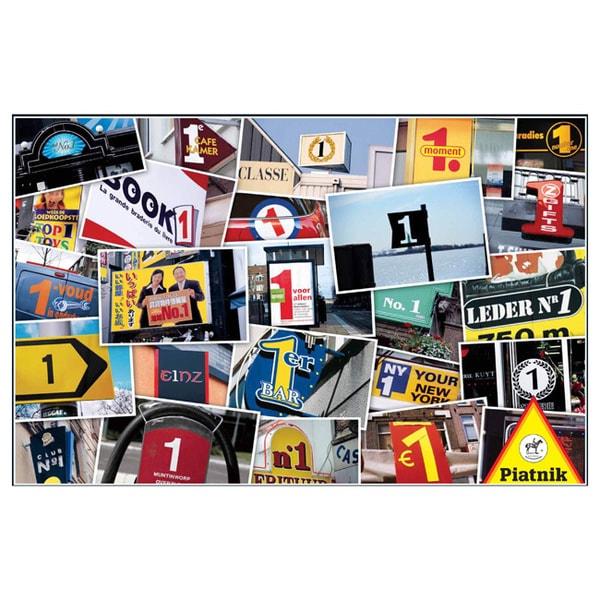 Piatnik Numbers 1000-piece Puzzle