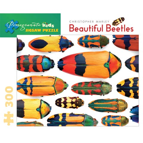 Beautiful Beetles 300-piece Puzzle