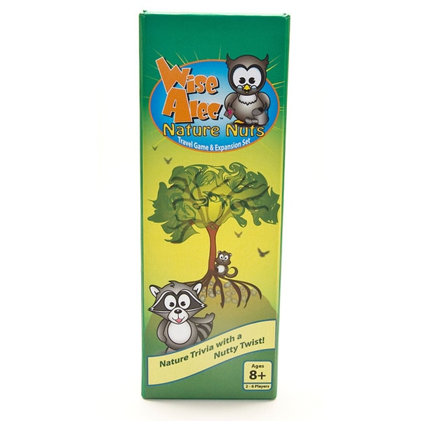 Wise Alec: Nature Nuts Travel Game and Expansion Set