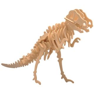Puzzled Inc. Big Tyrannosaurus Wooden Puzzle - Multicolor