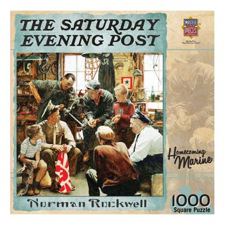 The Saturday Evening Post Homecoming Marine 1000-piece Puzzle