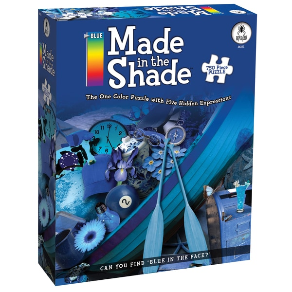 Blue Made in the Shade 750-piece Jigsaw Puzzle
