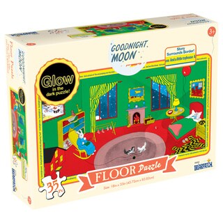 Goodnight Moon Glow in the Dark 35-piece Floor Puzzle