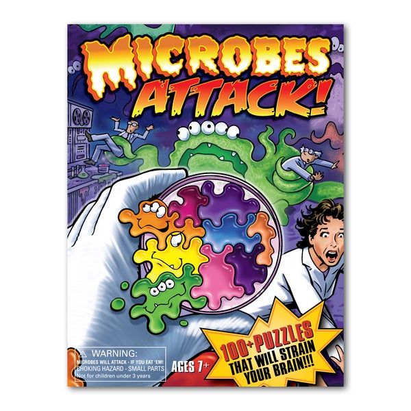 Microbes Attack Brain Teaser Puzzle