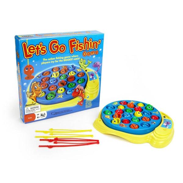 Let's Go Fishin' Game