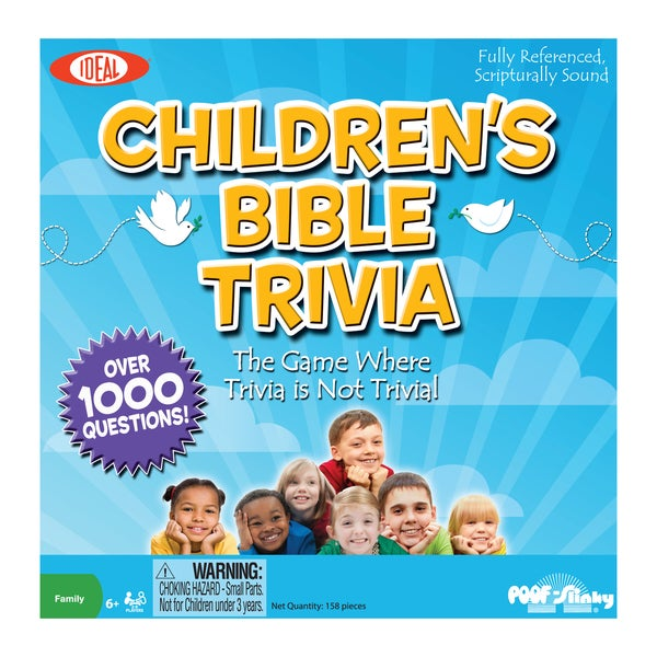 Children's Bible Trivia Board Game