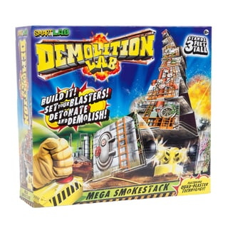 Smart Lab Demolition Lab Mega Smokestack Board Game