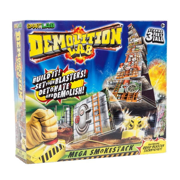 Smart Lab Demolition Lab Mega Smokestack Board Game