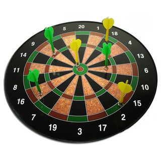 Magnetic 16-inch Dartboard