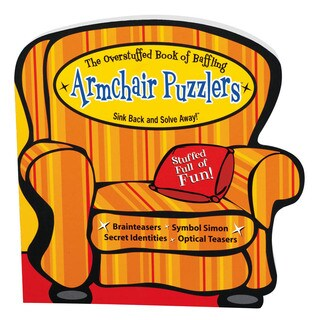 Armchair Puzzlers Book Overstuffed Baffling Puzzlers