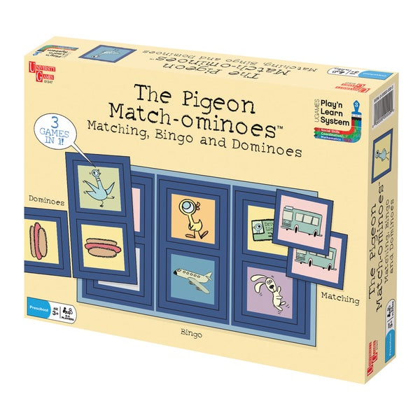 University Games The Pigeon Match-ominoes