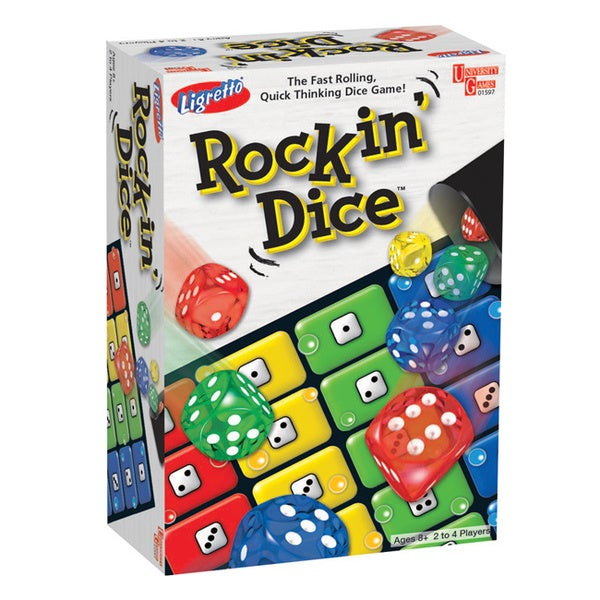 University Games Ligretto Rockin' Dice