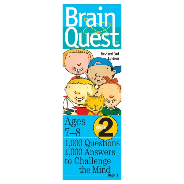 Workman Publishing Brain Quest 2nd Grade Game