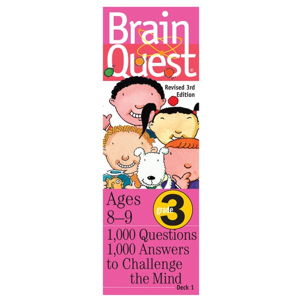 Workman Publishing Brain Quest 3rd Grade Game