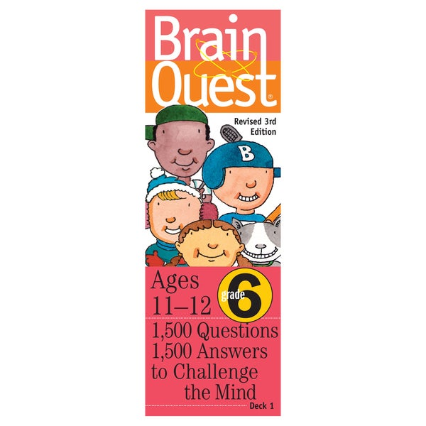 Workman Publishing Brain Quest 6th Grade Game
