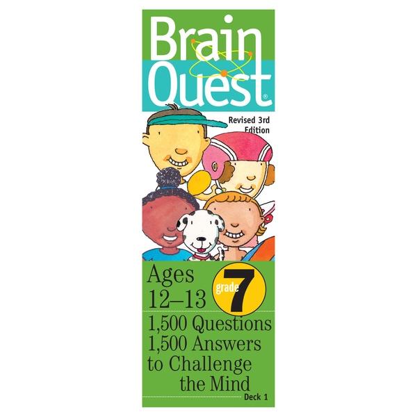 Workman Publishing Brain Quest 7th Grade Game