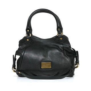 Marc by Marc Jacobs 'Classic Q' Black Leather Fran Tote