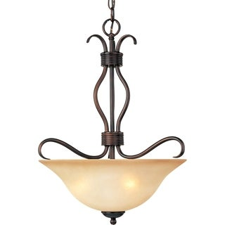 Maxim Basix Inverted Bowl Light Pendant