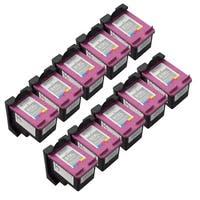 Sophia Global Remanufactured Color Ink Cartridge Replacements for HP 61XL with Ink Level Display (Pack of 10)