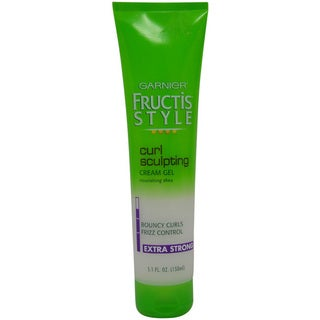 Garnier Fructis Style Curl Sculpting Cream 5-ounce Gel