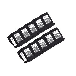 Sophia Global Remanufactured Black Ink Cartridge Replacements for HP 901XL (Pack of 10)