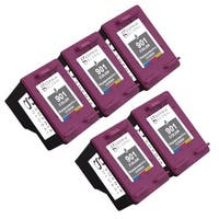 Sophia Global Remanufactured Color Ink Cartridge Replacements for HP 901 (Pack of 5)