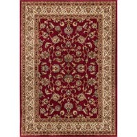 "Well Woven Ariana Palace Red Mat Accent Rug - 2'3"" x 3'11"""