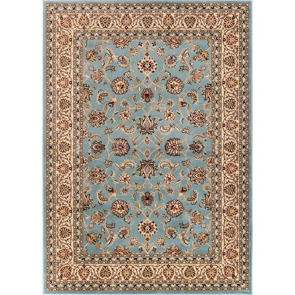 "Well Woven Ariana Palace Light Blue Area Rug - 9'3"" x 12'6"""