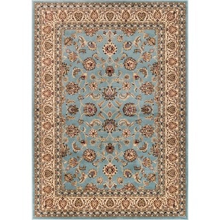 Ariana Palace Light Blue Area Rug (9'3 x 12'6)