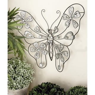 Shop Studio 350 Metal Acrylic Butterfly 22 Inches Wide 18