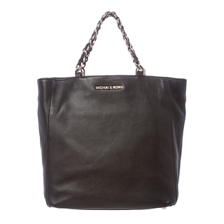 MICHAEL Michael Kors 'Harper' Large Black North South Tote