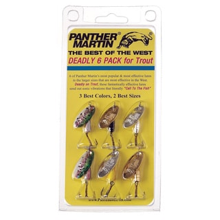 6 Panther Martin Fishing Lures Best Of The West Kit