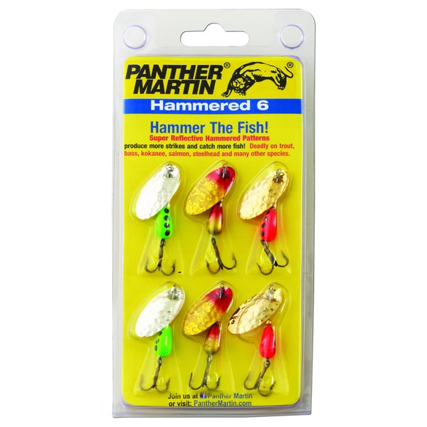 Panther Martin Hammered 6 Pack Kit