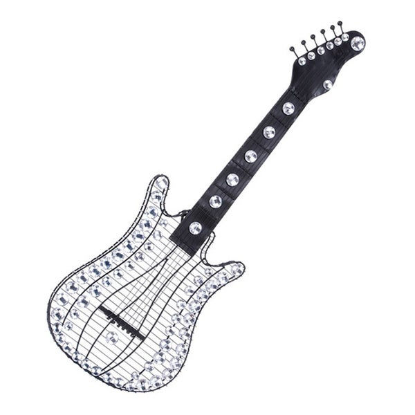Studio 350 Metal Acrylic Guitar 36 inches high, 12 inches wide