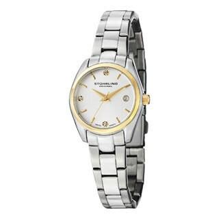 Stuhrling Original Women's Lady Ascot Prime Swiss Quartz Bracelet Watch|https://ak1.ostkcdn.com/images/products/8646483/Stuhrling-Original-Womens-Lady-Ascot-Prime-Swiss-Quartz-Bracelet-Watch-P15907792.jpg?_ostk_perf_=percv&impolicy=medium