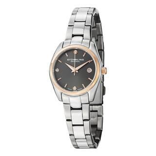 Stuhrling Original Women's Lady Ascot Prime Swiss Quartz Bracelet Watch|https://ak1.ostkcdn.com/images/products/8646484/P15907793.jpg?impolicy=medium